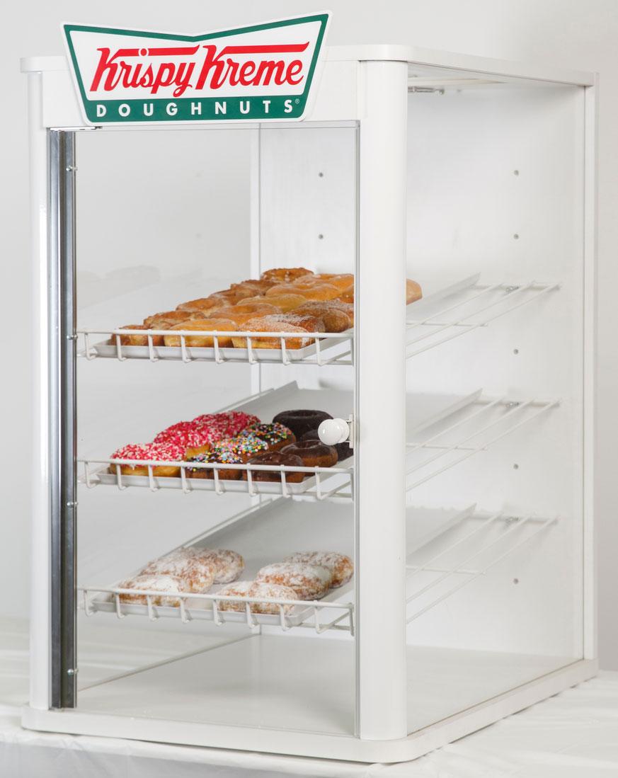 Krispy Kreme point of purchase display